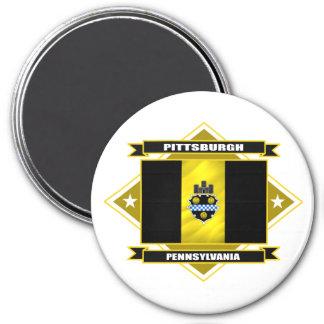 Diamante de Pittsburgh Imán Redondo 7 Cm