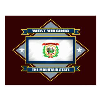 Diamante de Virginia Occidental Postal