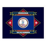 Diamante de Virginia Postal