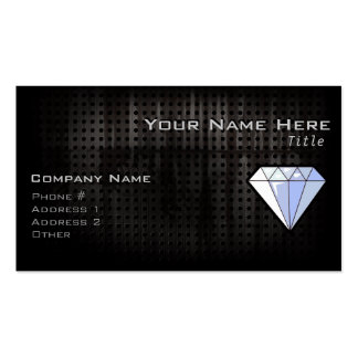 Diamante del Grunge Tarjetas De Visita