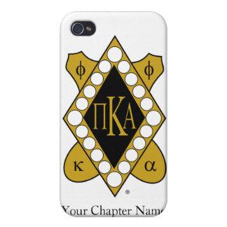 Diamante del oro de PKA iPhone 4 Cárcasas