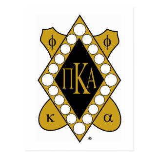 Diamante del oro de PKA Postales