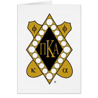 Diamante del oro de PKA Tarjeta Pequeña
