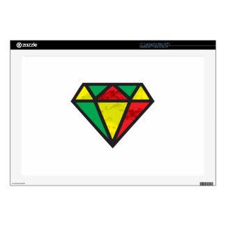Diamante del reggae skins para 43,2cm portátil