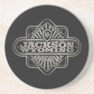 Diamante del vintage de Jackson Posavasos Manualidades