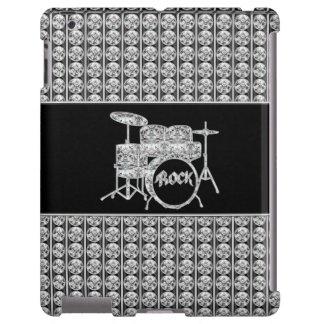 Diamante Drumset de la estrella del rock
