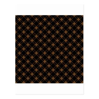Diamante grande de tres bandas - nariz de Brown en Tarjeta Postal