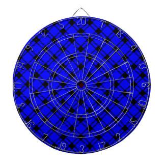 Diamante grande de tres bandas - negro en azul tablero dardos