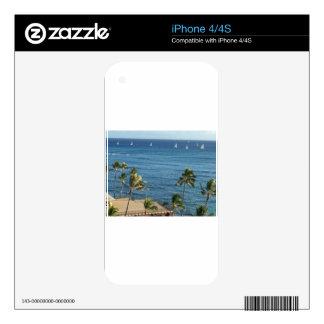 Diamante Hawaii principal iPhone 4S Skin