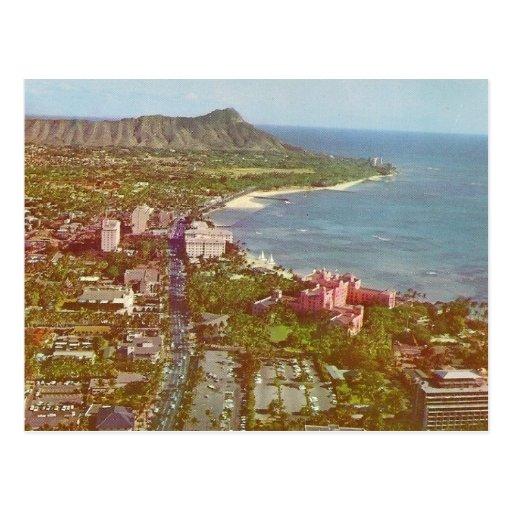 Diamante Hawaii principal Postales