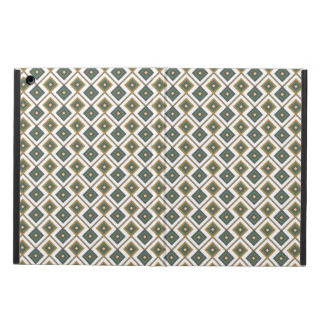 Diamante in green iPad air cover