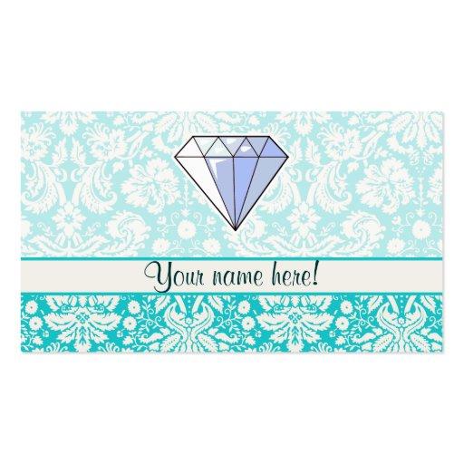 Diamante; Lindo Tarjetas De Negocios