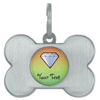 Diamante Placas Mascota