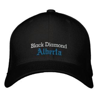 Diamante negro, gorra (Alberta) Gorra De Beisbol Bordada