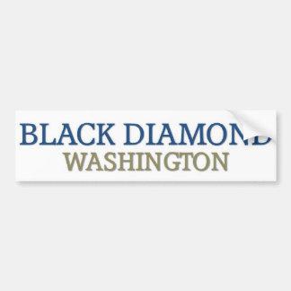 Diamante negro pegatina para auto