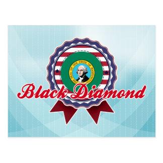 Diamante negro WA Postales
