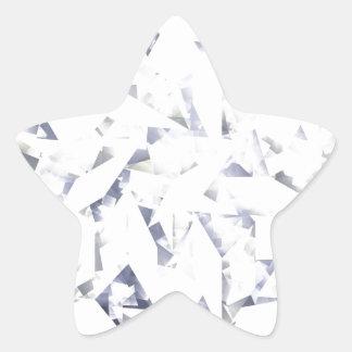 Diamante Pegatina En Forma De Estrella