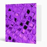 Diamante púrpura Amethyst metálico brillante de la
