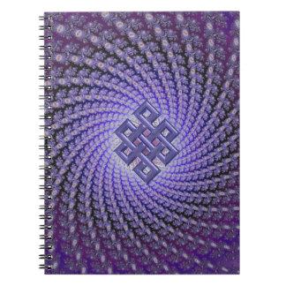 Diamante púrpura del Celtic del fractal de Spral