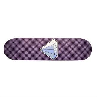 Diamante púrpura tablas de patinar