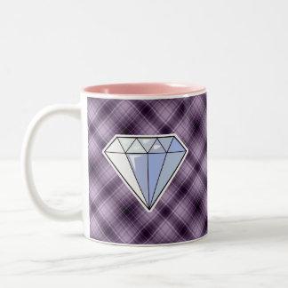 Diamante púrpura taza