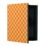 Diamante-Tablero de damas anaranjado de la iPad Cárcasa