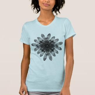 Diamante traslapado de las libélulas camisetas