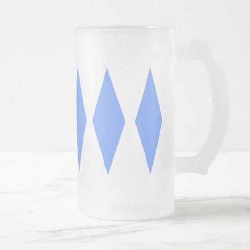 Diamante triple tazas de café