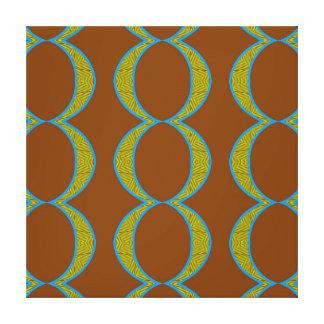 Diamante verde de cobre abstracto moderno de los lona estirada galerías