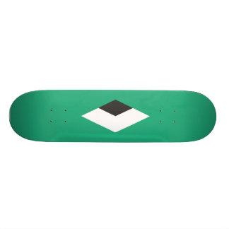 Diamante verde tabla de skate