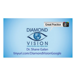 Diamante Vision Tarjetas De Visita