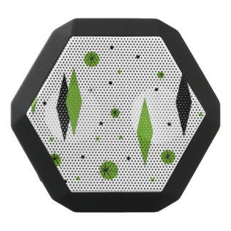 Diamante y altavoz verdes retros de Starbursts Altavoces Bluetooth Negros Boombot REX