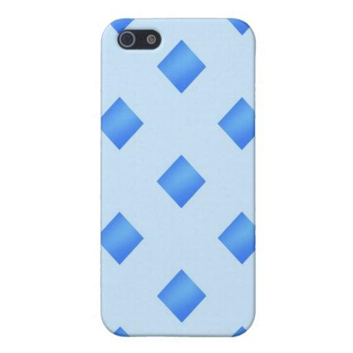 Diamantes 4 LINDOS de los azules cielos iPhone 5 Funda