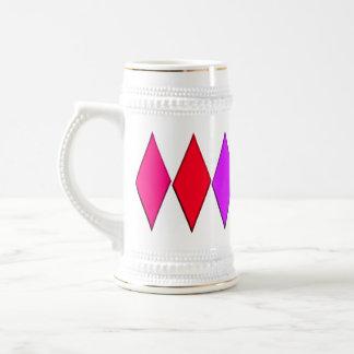 Diamantes 7 taza de café