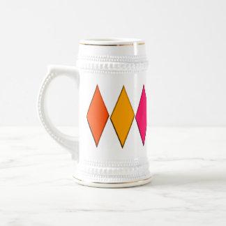 Diamantes 8 tazas de café