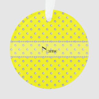 Diamantes amarillos de neón conocidos personalizad