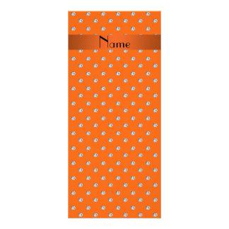 Diamantes anaranjados conocidos personalizados lona publicitaria