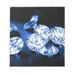 Diamantes azules blocs