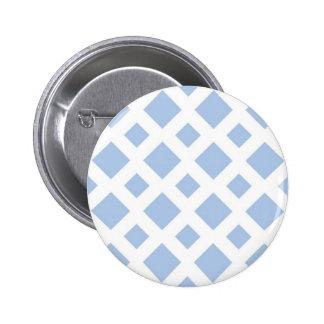Diamantes azules claros en blanco pin