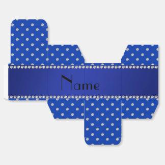 Diamantes azules conocidos personalizados caja para regalos