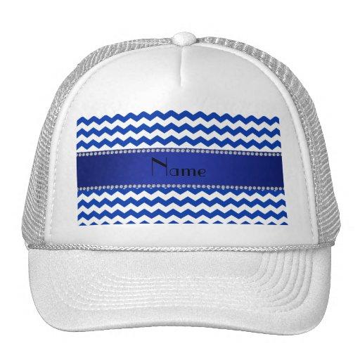 Diamantes azules conocidos personalizados de los g gorras