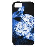Diamantes azules iPhone 5 Case-Mate cobertura