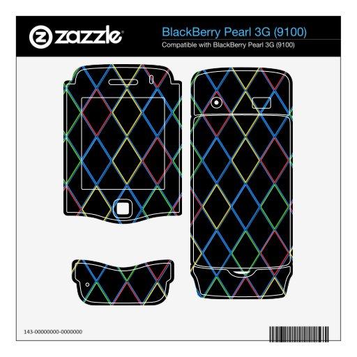 Diamantes BlackBerry Pearl Skins