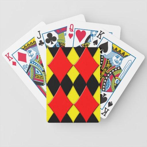 Diamantes Cartas De Juego