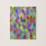 Diamantes coloridos puzzle con fotos