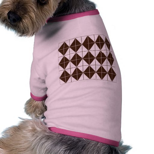 Diamantes de Brown Argyle Camisas De Perritos
