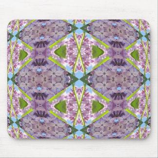 Diamantes de la lila de Lavendar Tapetes De Ratones