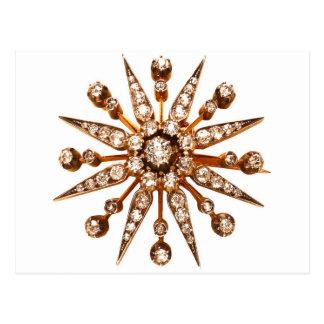Diamantes de los diamantes artificiales de la bisu postales