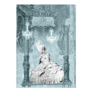 Diamantes de Marie Antonieta e invitaciones del Invitación 12,7 X 17,8 Cm