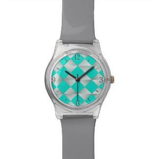Diamantes del satén de los mediados de siglo - relojes de pulsera